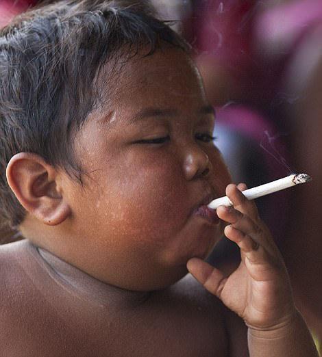 印尼最小年龄烟瘾者戒烟成功引瞩目