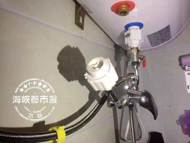 热水器接口突然脱落 20岁女租客全身烫伤住进ICU