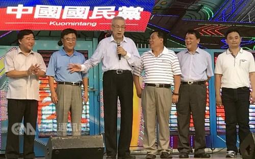 吴敦义:布局稳住2018选举 最终目标2020年胜选